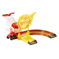 Pista de Percurso Blaze - Círculo de Fogo - Fisher-Price - Fisher price