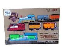 Pista de Trem Completo A Pilha Com Trilhos - Cute Toys - Ref 6972 - Uniart