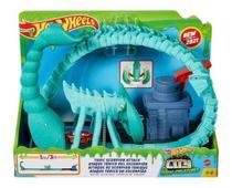 Pista hot wheels city ataque tóxico do escorpião - Mattel