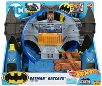 Pista Hot Wheels City Batman Batcaverna GBW55 - Mattel