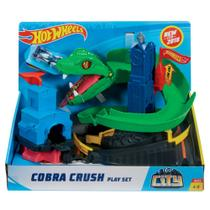 Pista Hot Wheels City Conjunto Ataque De Cobra Fnb20 Mattel