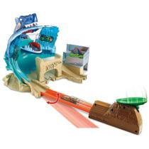 Pista - Hot Wheels City - Conjunto Batalha na Praia do Tubarao