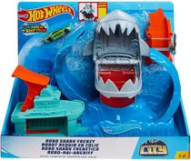 Pista hot wheels city robo tubarao gjl12 - Mattel