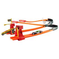 Pista Hot Wheels - Corrida Turbo - Mattel -