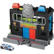 Pista Hot Wheels - Delegacia de Polícia no Centro da Cidade - GVN72 -