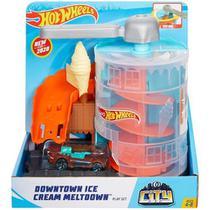 Pista Hot Wheels Loja De Sorvete Gjk74 - Mattel - Hot Weels