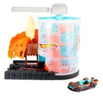Pista Hot Wheels Loja de Sorvete Mattel -