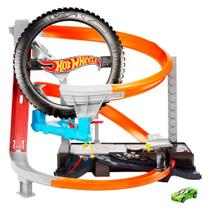Pista Hot Wheels Oficina Mecânica Mattel -