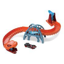 Pista Hot Wheels - Ponte de Cobra - Mattel -