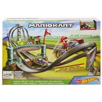 Pista  hotwheels mario kart circuito de corridas - Mattel