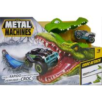 Pista Metal Machines Croc Attack Crocodilo Candide 8704