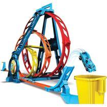 Pista Turbo Triplo Looping Hot Wheels - Mattel