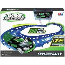 Pista Wave Racers Skyloop Rally Veículo E Pista Loop 360 - Dtc