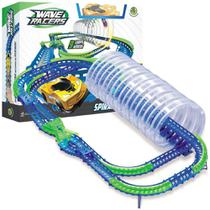Pista Wave Racers Spiral Frenzy Com 9 Loops Aéreo Dtc 4712 -