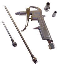 Pistola Ar Para Limpeza 5 Peças 1/4  Engate Rápido Dg10 - Idea