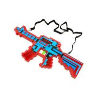 Pistola Arma Minecraft Diamante C/som E Luz 40cm Alex Stive - Toys