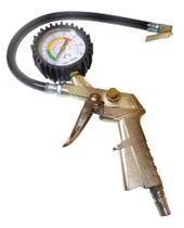 Pistola De Ar Calibrador Inflador Para Pneu Com Manômetro - IDEA