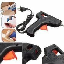 Pistola de cola quente mini aplicador termico para cola em bastao 20w misaki - GIMP