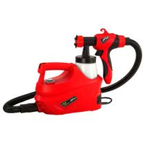 Pistola pulverizadora Air Plus Spray 350W 220V vermelha Schulz -