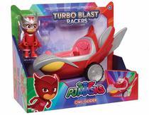 Pj Masks Corujita E Coruja Turbo Blast Racers Pj Masks 4158 - Dtc -