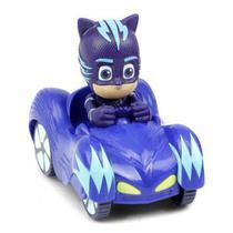 Pj Masks Mini Veículo Azul Menino Gato 4159 Dtc -