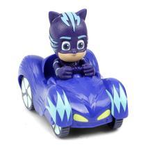 PJ Masks Mini Veículo com Personagem Menino Gato - DTC -