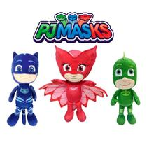 PJ MASKS PELUCIA 20cm DTC - Kit com 3 personagens -