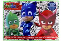 Pj Masks - Prancheta Para Colorir - Online Editora