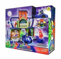 PJ Masks Quartel General Com Luz e Som - DTC -