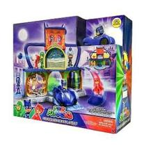 Pj Masks Quartel General Com Veículo 4473 - Dtc -