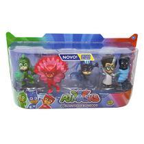 Pj Masks Super Kit Bonecos Original Serie 2 Dtc - Dtc (Brinquedos)