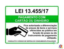 Placa Adesiva Nova Lei 13.455/17 Para Lojas, Comércios... - Editora Capri