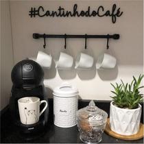 Placa Cantinho do Café em MDF 48cm Corte Fino - Dfs