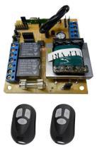 Placa Central De Motor Eletrônico Portão Rcg 2 Controles -