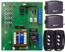 Placa Central Motor Portão Eletrônico Rossi Dz3 Dz4 Nano Sensor Hall Controles - IPEC