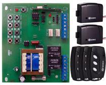 Placa Central Motor Rossi Dz3 Dz4 Nano Sensor Hall + 3 Controle Remoto 3 Canais Preto + 2 Tx Car Farol Luz Alta Carro Moto - IPEC