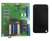 Placa Central Motor Rossi Dz3 Dz4 Nano Sensor Hall + Controle 2 Canais Rossi Ntx Preto - IPEC