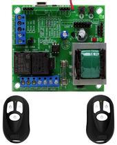 Placa Central Rcg Clp Motor Portão Mais 2 Controles Original -