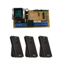 Placa Central X2 Full ST Universal Marcas Comando Motor 3 Controles Pix - Ipec