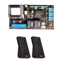 Placa Central X2 Universal Marcas Comando Motor 2 Controles Pix - Ipec