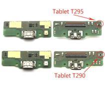 Placa Conector Carga Compatível Tablet Galaxy A8 T290 T295 Microfone -