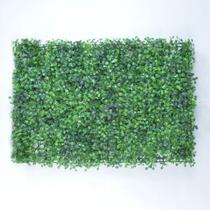 Placa de Grama Artificial Buchinho para Jardim Vertical - Vila Das Flores