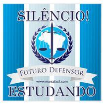 Placa de Porta Futuro Defensor - Marca Fácil