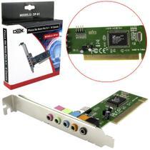 Placa de Som PCI com 5 Canais DP-61 DEX -