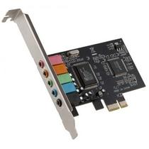Placa de Som PCI-express 5.1 6 canais DP-65 DEX -