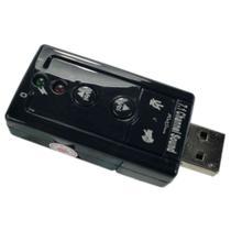 Placa de som USB externa 7.1 - Webstore