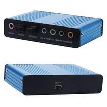 Placa De Som Virtual 7.1 Sound Usb Optico Saída Óptica - Ctek