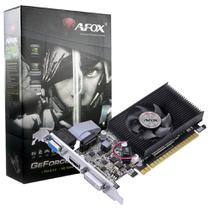 Placa de Vídeo AFOX G210 Geforce 1GB DDR3 HDMI DVI VGA Até 2 Monitores Low Profile - AF210-1024D3L5