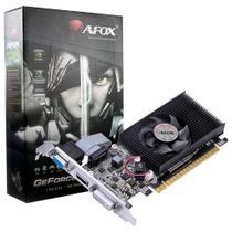 Placa de Vídeo AFOX Geforce GT 730 2GB PCI-E DDR3 DVI VGA HDMI Low Profile - AF730-2048D3L6 -