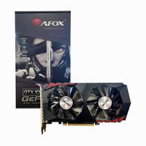 Placa de Vídeo AFOX Geforce GTX 1050 Ti 4GB GDDR5 DP DVI HDMI Dual Slot 128 Bits - AF1050TI-4096D5H6-V5 -